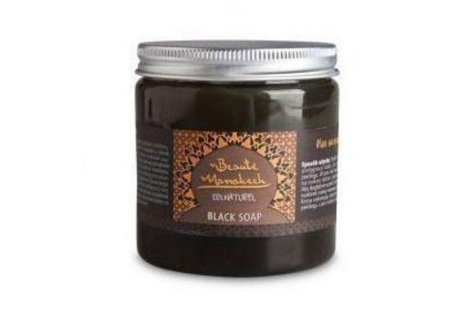 BEAUTE MARRAKECH Czarne mydło naturalne SAVON NOIR 200 g